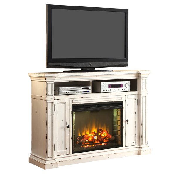 New Castle 58 TV Stand with Fireplace by Legends Furniture