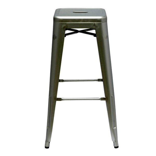 Clever 30 Bar Stool by Mercury Row