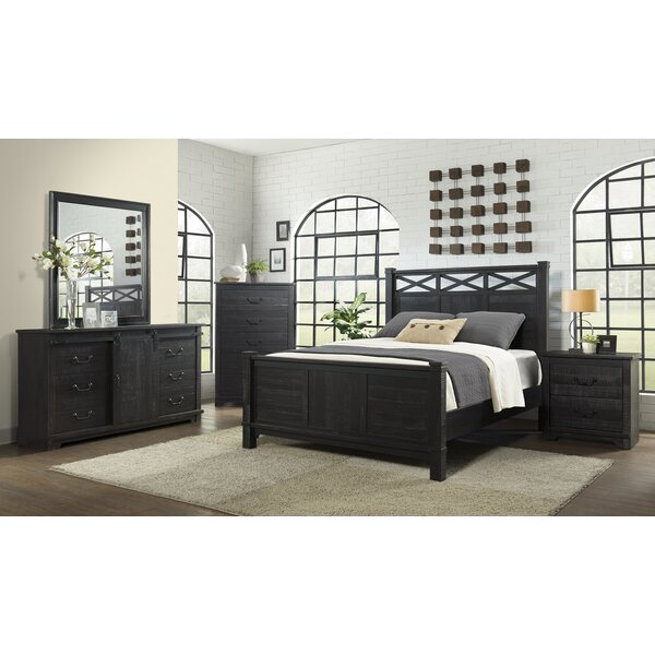 Saige Home Farmhouse Panel Configurable Bedroom Set by Red Barrel Studio