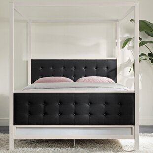 Barks Queen Canopy Bed by Wade Logan