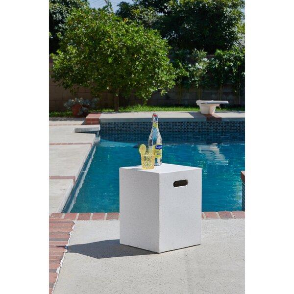 Richert Stone/Concrete Side Table By Williston Forge by Williston Forge Spacial Price