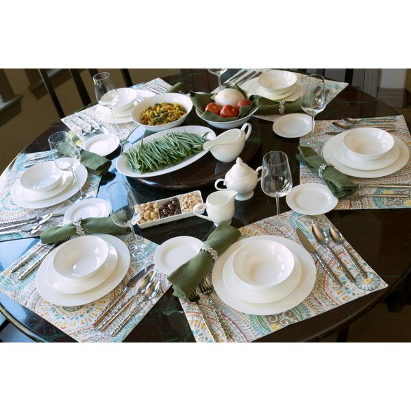 Maret Bone China 32 Piece Dinnerware Set, Service for 6 by Darby Home Co