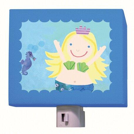 Blonde Mermaid Night Light by Oopsy Daisy