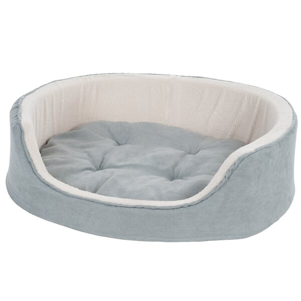 Catherine Suede Cuddle Round Pet Bed by Tucker Murphy Pet