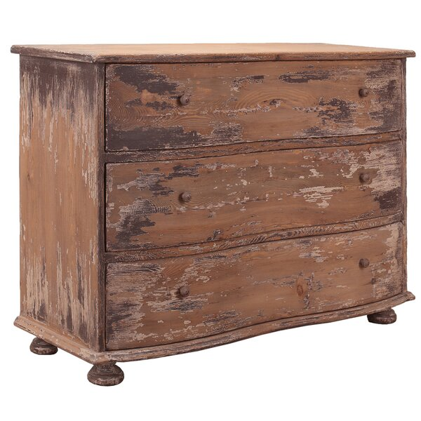 Coble 3 Drawer Accent Chest by Sarreid Ltd