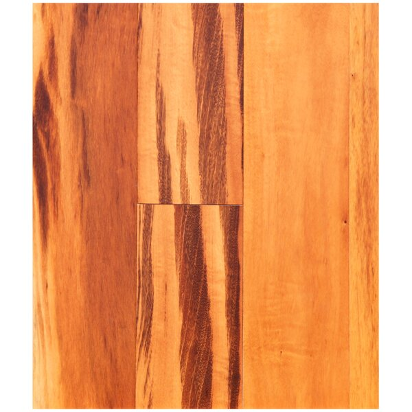5 Solid Brazilian Tigerwood Hardwood Flooring in Natural by Easoon USA