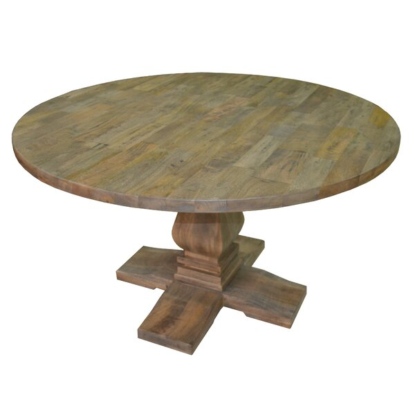 Tekla Round Solid Wood Dining Table by Darby Home Co