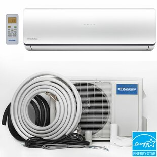 18,000 BTU Energy Star Ductless Mini Split Air Conditioner with Heater and Remote by MrCool