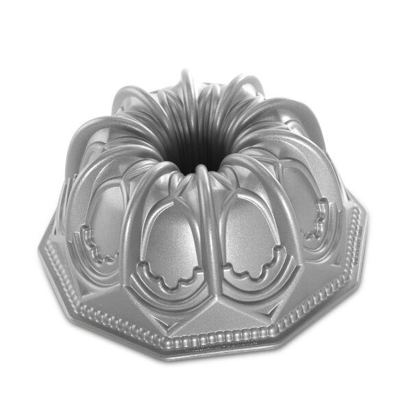 Platinum Vaulted Cathedral Bundt Pan by Nordic Ware