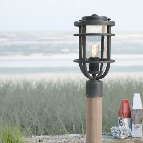 Hobkirk 1-Light Lantern Head by Beachcrest Home
