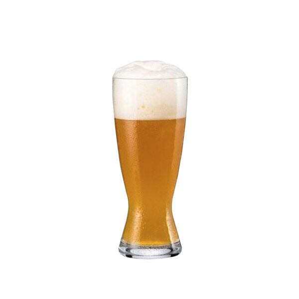 Weizen Beer 14 oz. Glass Pint Glasses (Set of 6) by RONA