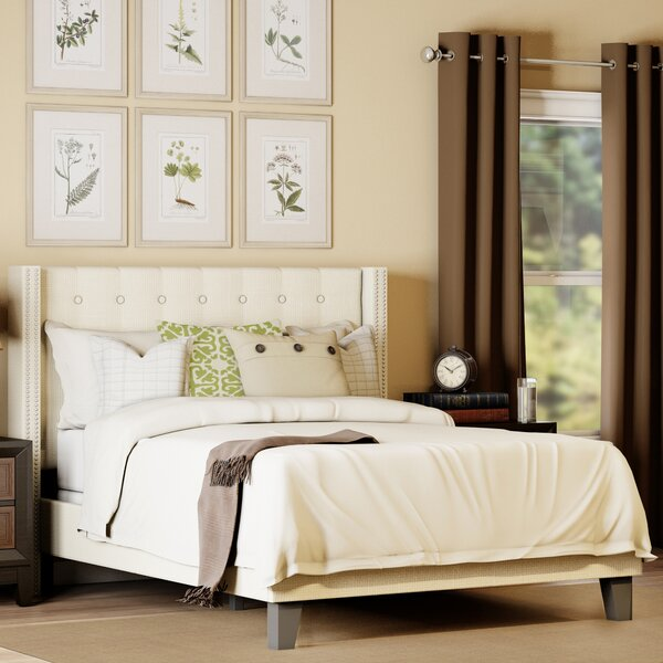 Denys Queen Upholstered Standard Bed by Darby Home Co