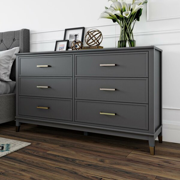 Westerleigh 6 Drawer Double Dresser By CosmoLiving By Cosmopolitan by CosmoLiving by Cosmopolitan Looking for