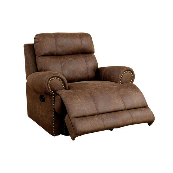 Cissna Leatherette Manual Glider Recliner