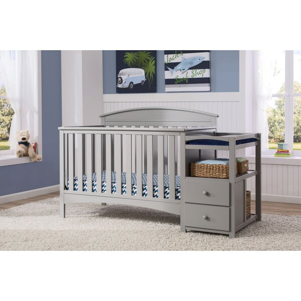 Abby 4-in-1 Convertible Crib and Changer by Delta