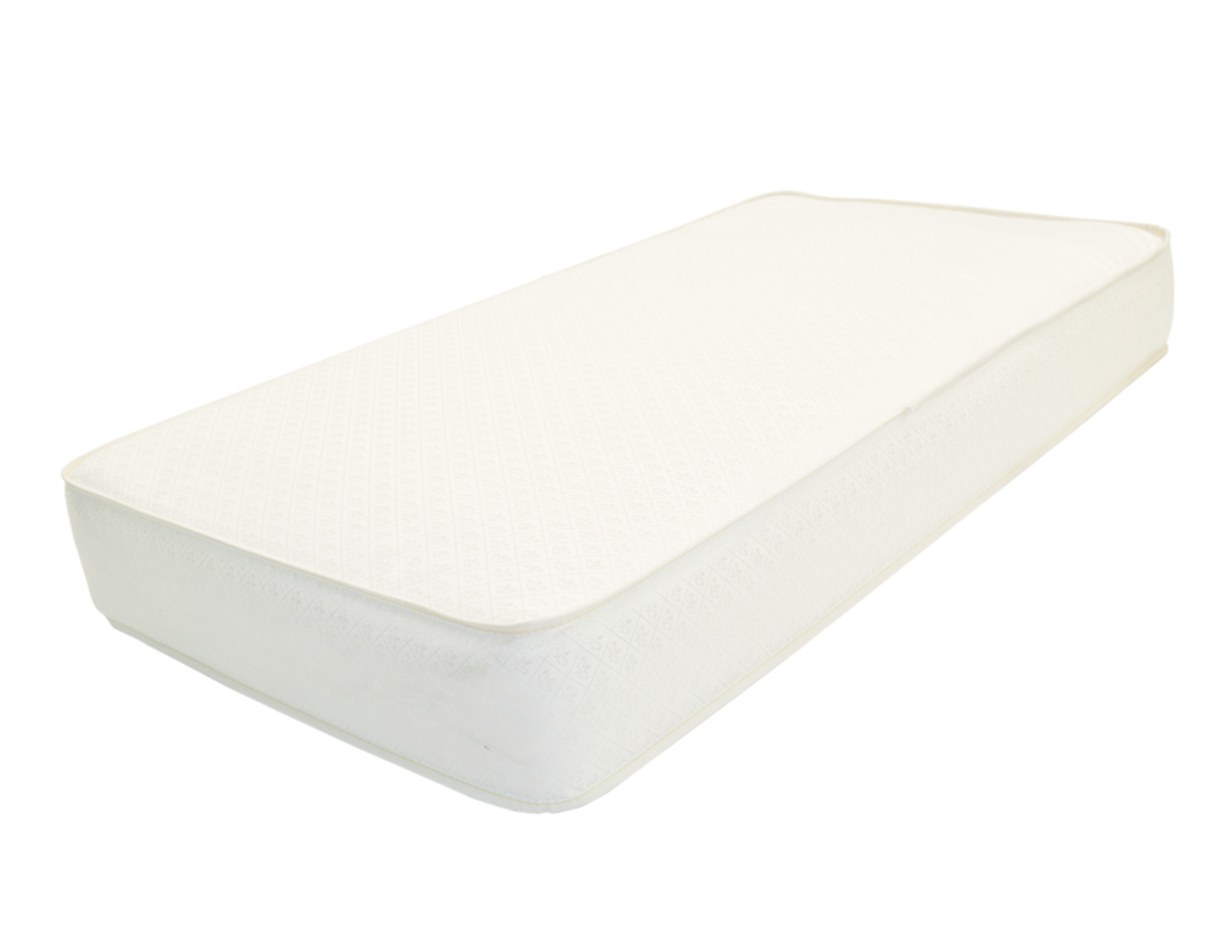 l.a. baby 2 in 1 memory soy foam core crib mattress--extra firm with