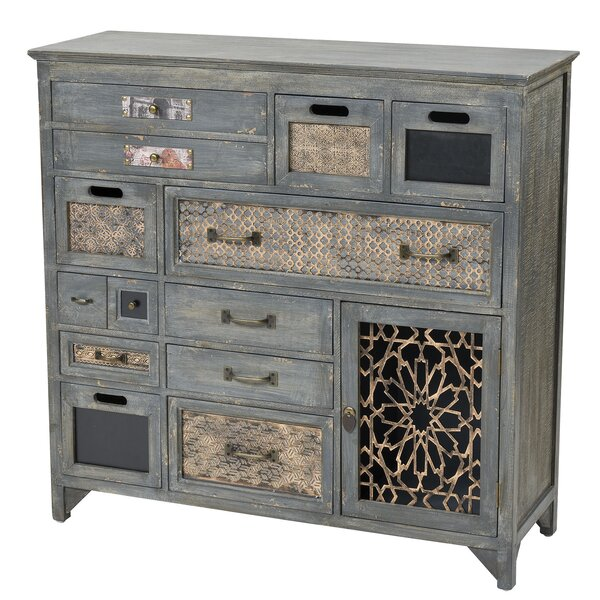 Pyle 1 Door Accent Cabinet by Bungalow Rose Bungalow Rose