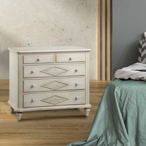 Rockwell 5 Drawer Dresser by One Allium Way