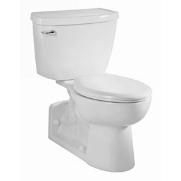Yorkville Flowise Right Height Pressure Assisted 1.1 GPF Elongated Two-Piece Toilet by American Standard