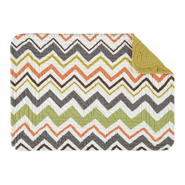 Tazzo Quilt Placemat (Set of 6) by C&F Home