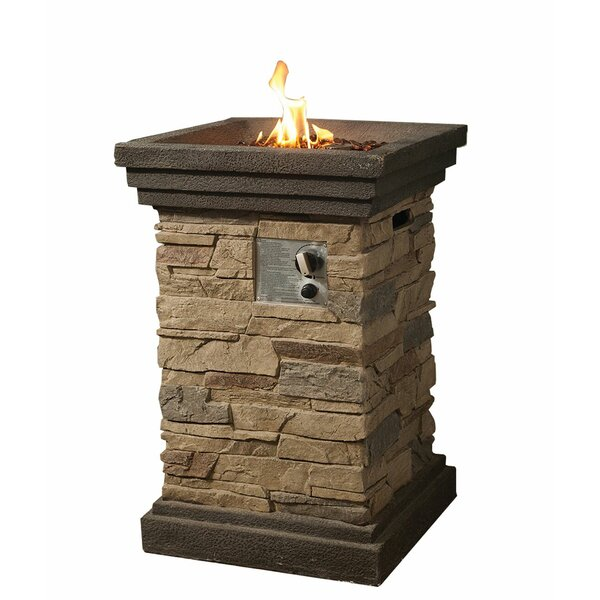 Meister Stone Propane Fire Pit By Ebern Designs