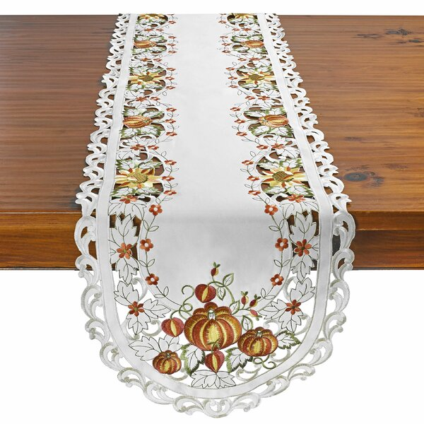 Chiara Pumpkin Table Runner by August Grove
