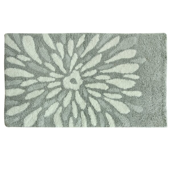 Delores Flower Power Bath Rug by Highland Dunes
