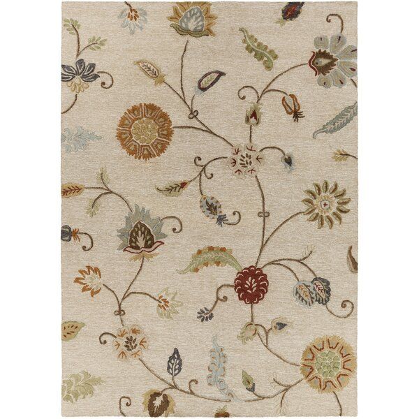 Stowe Ivory Rug by Charlton Home