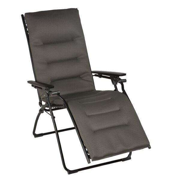 Evolution Reclining Zero Gravity Chair with Cushion by Lafuma