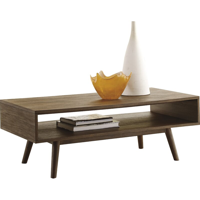 30 Live Edge Coffee Tables That Transform The Living Room: Napoleon Coffee Table & Reviews