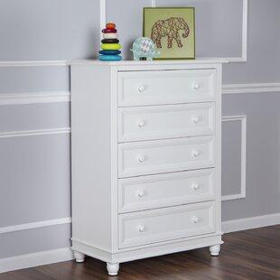 Hampton 5 Drawer Dresser by Evolur