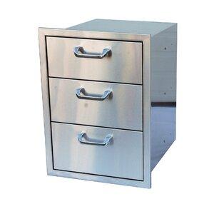 Triple Drawer Storage
