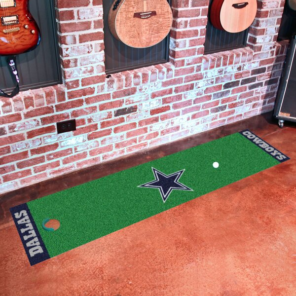 NFL Dallas Cowboys Putting Green Mat by FANMATS