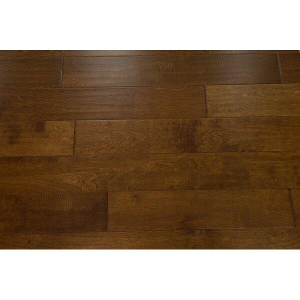 Helsinki 5 Engineered Birch Hardwood Flooring in Caramel by Branton Flooring Collection