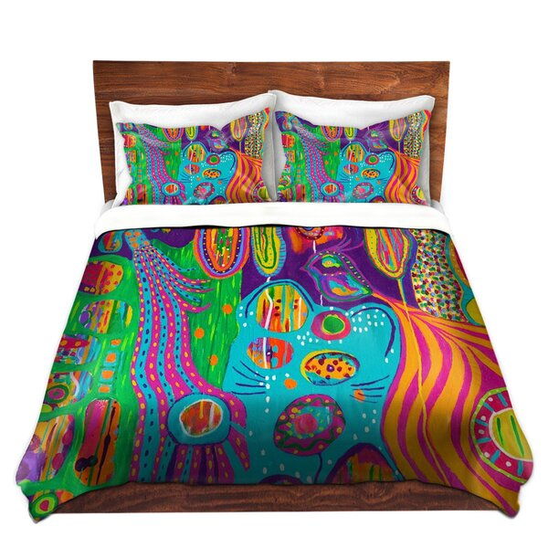 The Creatures Of Lollipop Land Duvet Cover Set
