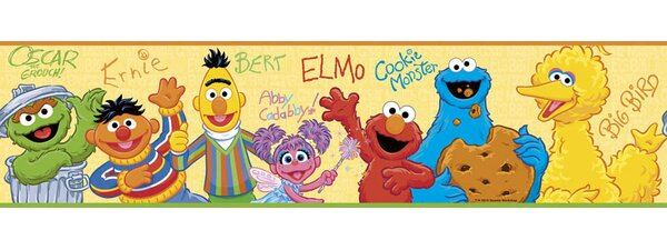 Sesame Street Elmo Room Makeover Wall Decal by Wallhogs