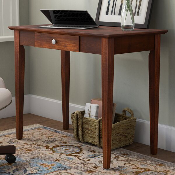 Bovina Solid Wood Writing Desk By Darby Home Co