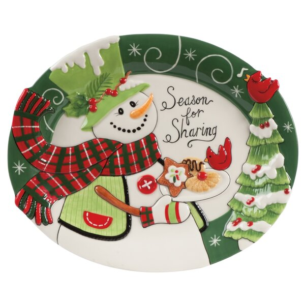 Christmas Platter Plates.Christmas Dishes And Platters You Ll Love In 2019 Wayfair