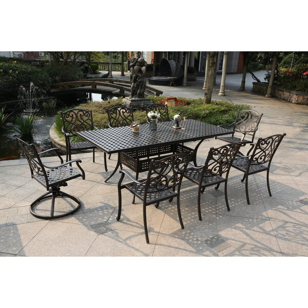 Pullen 9 Piece Dining Set by Canora Grey