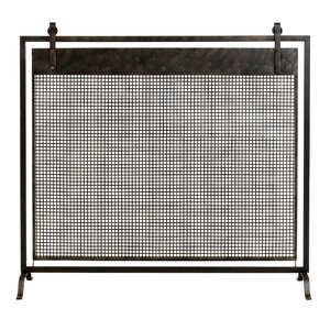 Francis Metal Fireplace Screen by Aspire