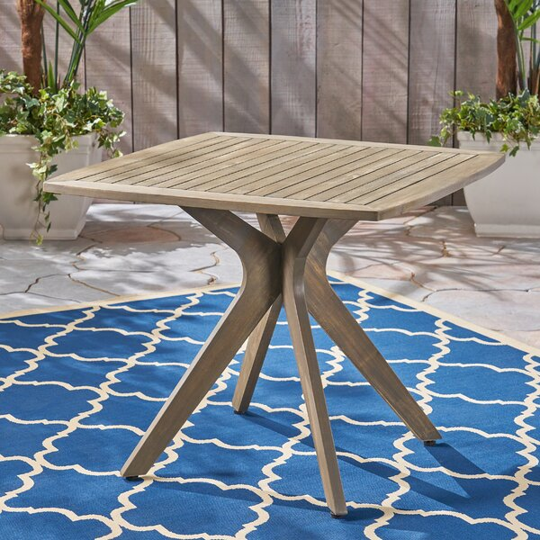 Mcateer Acacia Wood Dining Table by Union Rustic