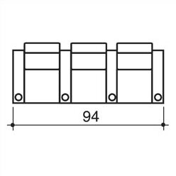 Olympia Home Theatre Row Seating (Row Of 3) By Bass