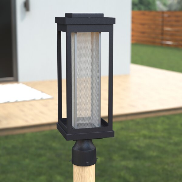 Cavazos Outdoor 1-Light LED Lantern Head by Latitude Run
