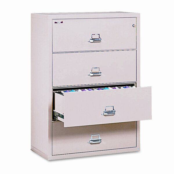 Fireproof Insulated 4-Drawer Lateral File by FireKing