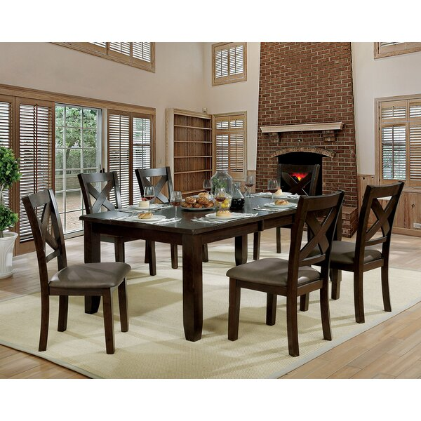 Wegman 7 Piece Extendable Dining Set by Red Barrel Studio Red Barrel Studio