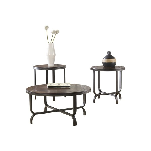 Anner 3 Piece Coffee Table Set By Wrought Studio