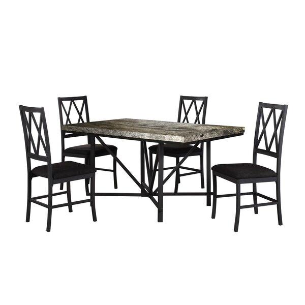 Cape Faux Concrete Dining Table by Gracie Oaks