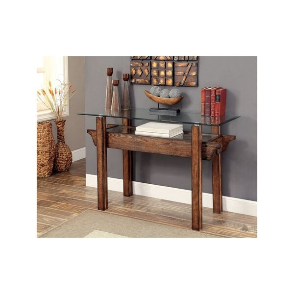 Foundry Select Glass Console Tables