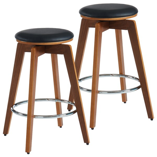 Bonaparte 26 Swivel Bar Stool (Set of 2) by George Oliver