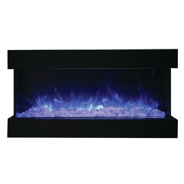 3-Sided Wall Mounted Electric Fireplace by Amantii